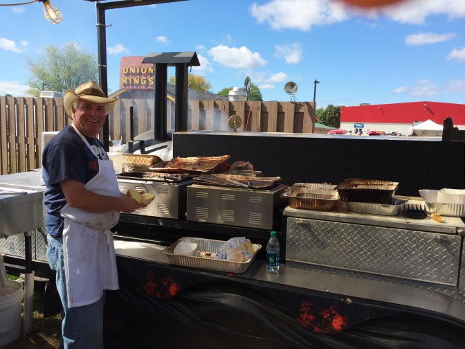 BBQ Johnny at the Champlain Valley Fair